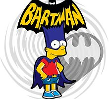 Bartman: the simpsons superheroes by logoloco