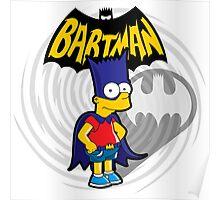 Bartman: the simpsons superheroes Poster