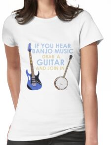 Grab Your Guitar Womens Fitted T-Shirt