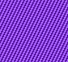 Purple Diagonal Stripe Pattern by TigerLynx