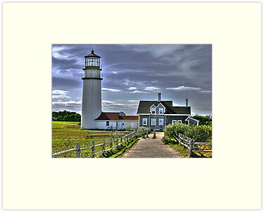 Cape Cod Light in HDR by Scott Englund