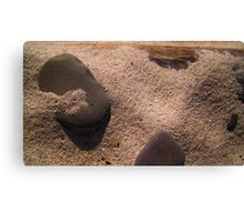 Sand and Rock #3 Canvas Print