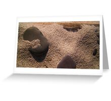 Sand and Rock #3 Greeting Card