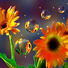 The Sunflower World 2 by Angi Baker