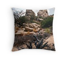 Silent History Throw Pillow