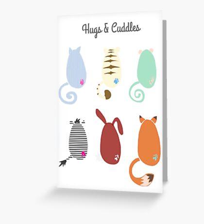 Tiggle bottoms Greeting Card