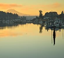 Queit Morning by Bryan Peterson