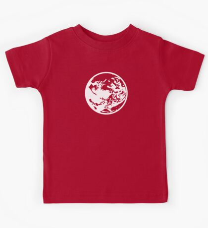 Earthbound Symbol - Super Smash Bros. (white) Kids Tee