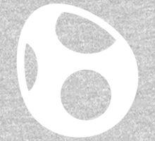 Yoshi Symbol - Super Smash Bros. (white) One Piece - Long Sleeve