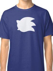 Sonic the Hedgehog Symbol - Super Smash Bros. (white) Classic T-Shirt