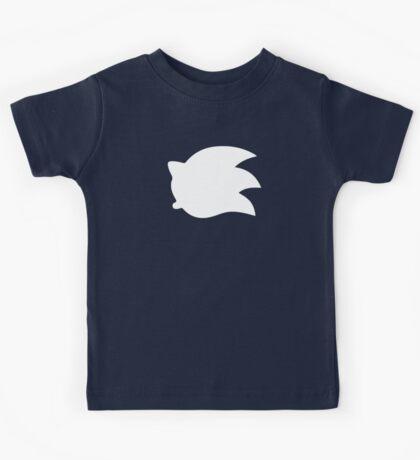 Sonic the Hedgehog Symbol - Super Smash Bros. (white) Kids Tee