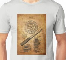Fishing Reel Patent 1906  Unisex T-Shirt