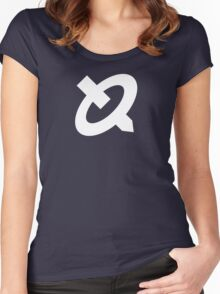 R.O.B. Symbol - Super Smash Bros. (white) Women's Fitted Scoop T-Shirt