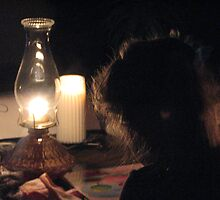 Hannah and Earth Hour by gypsykatz