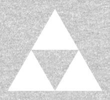 The Legend of Zelda Symbol - Super Smash Bros. (white) One Piece - Long Sleeve