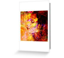 """"""" Woman who travels lets travel her heart. """" Greeting Card"""
