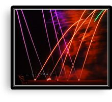 PyroTechnics Training School Canvas Print