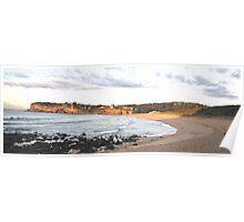 Avalon Sunrise - Avalon Beach , Sydney Australia Poster