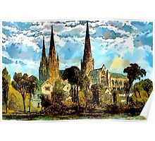 Lichfield Cathedral, Staffordshire - all products Poster