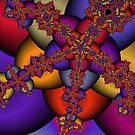 Fractal Star by Susan Sowers