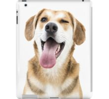Wink wink, nudge nudge iPad Case/Skin