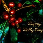 Happy Holly Days! by Anita Pollak