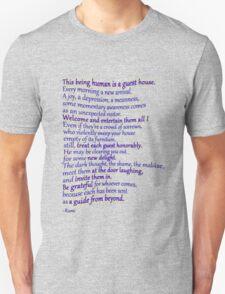 A favorite RUMI poem Unisex T-Shirt