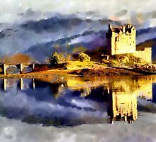 Eilean Donan Castle, Scotland - all products by Dennis Melling