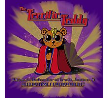 The Terrific Teddy: Ultimate Defender Photographic Print