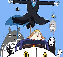 Ghibli mix2 by FrancisMacomber