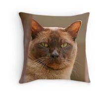 Chocky Throw Pillow