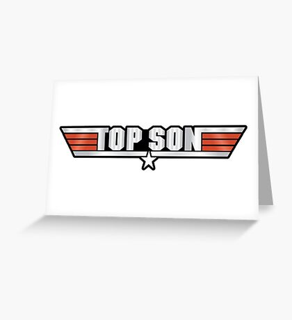 Top Son Callsign Greeting Card