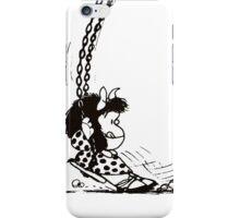 Mafalda altalena iPhone Case/Skin