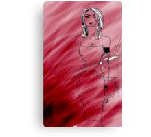 Frau Canvas Print