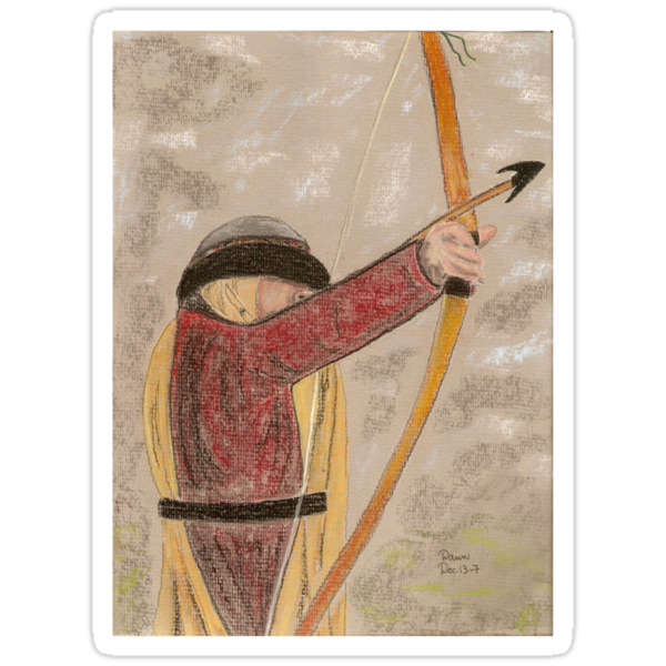 Medieval Archer by Dawn B Davies-McIninch