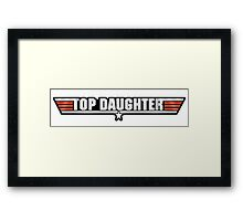 Top Daughter Callsign Framed Print