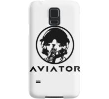 Aviator Fighter Pilot Samsung Galaxy Case/Skin
