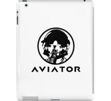 Aviator Fighter Pilot iPad Case/Skin
