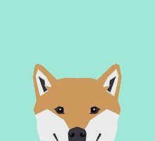 Cassidy - Shiba Inu cute gifts funny dog gifts for cell phone case dog lover gifts for dog person by PetFriendly