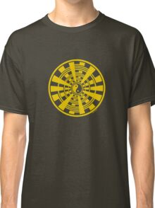 Mandala 36 Yin-Yang Yellow Fever Classic T-Shirt