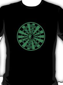 Mandala 36 Yin-Yang Green With Envy T-Shirt