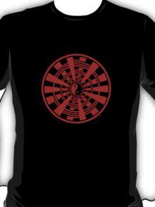Mandala 36 Yin-Yang Colour Me Red T-Shirt