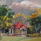 New Farm Park by Paul  Milburn