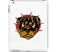 Mad Rottweiller iPad Case/Skin
