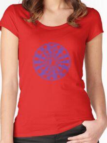 Mandala 36 Yin-Yang Purple Haze Women's Fitted Scoop T-Shirt