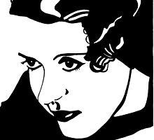 Bette Davis by Sassy Bombassi
