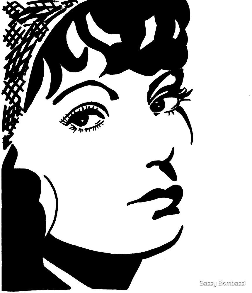 Greta Garbo by Sassy Bombassi