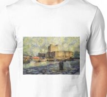 Starry Carrickfergus Castle Unisex T-Shirt
