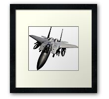 F-15 Jet Fighter Framed Print