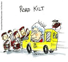 Road Kilt by Rick  London